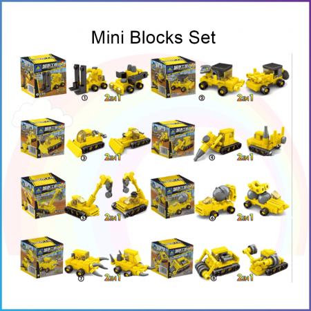 Mini Block Set - Builder