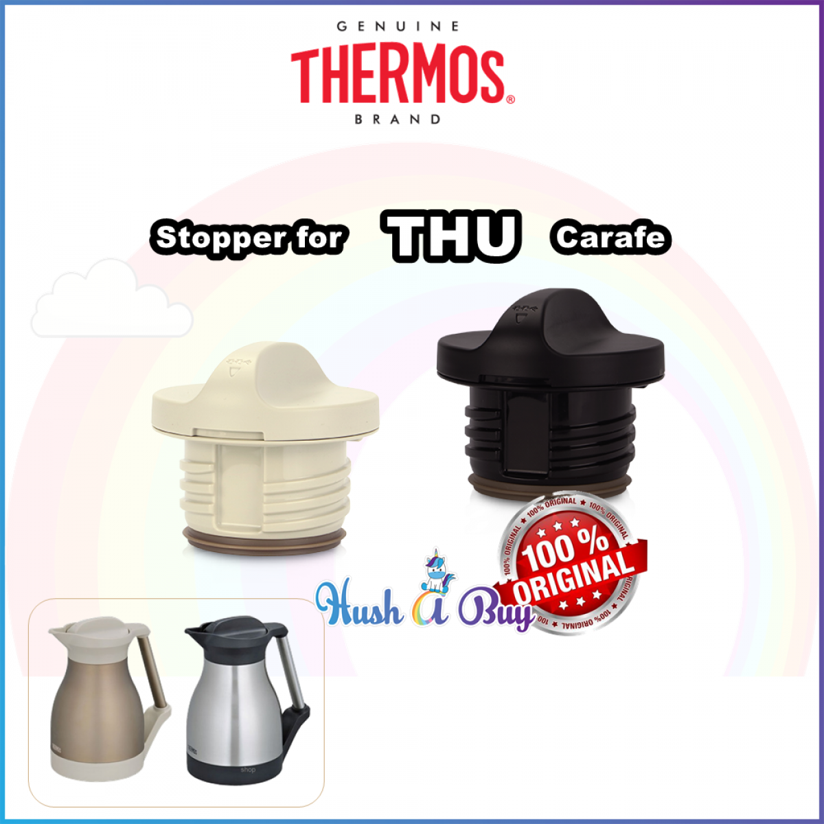 Thermos Spare Part - THU Series Stopper - Carafe Head