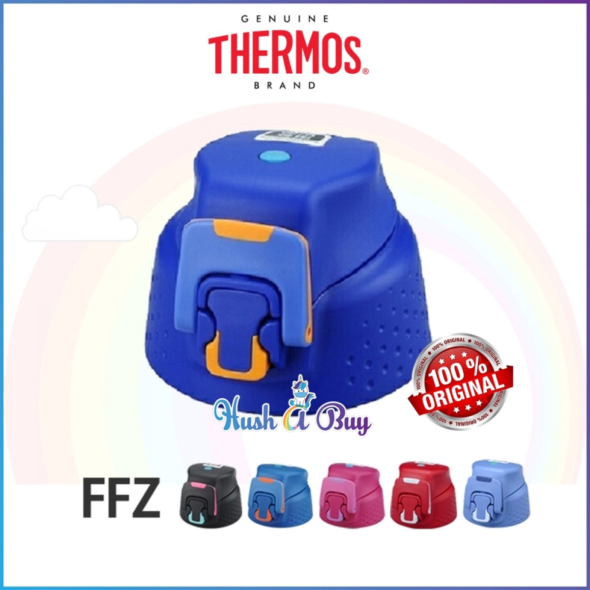 Thermos Spare Part - Thermos FFZ Series Head / Stopper / Lid ( For FFZ-1501F and FFZ-1500F)