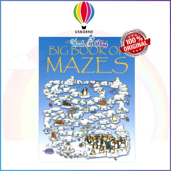 Usborne Activities BIG Book of Mazes