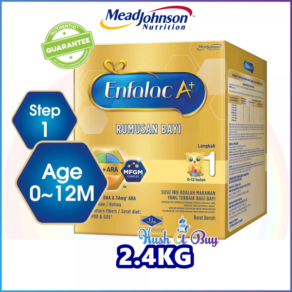 Enfalac A+ Step 1 - 2.4kg