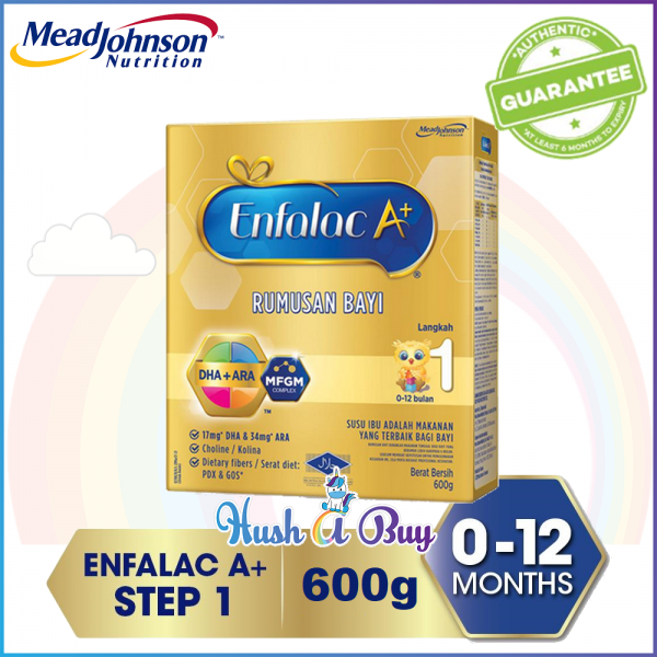 Enfalac A+ Step 1 - 600g or 900g