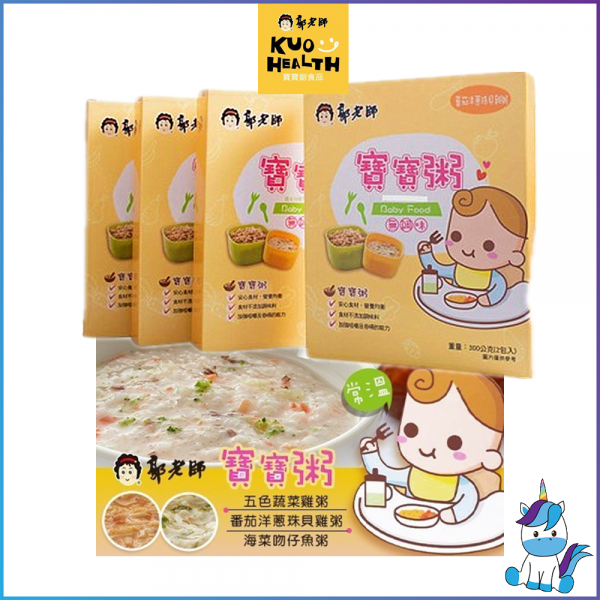 KUOHEALTH Baby Porridge 郭老师常温宝宝粥 (Pack of 2)