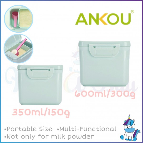 Ankou Mini Portable Milk Powder Container 350ml/150g OR 600ml/300g