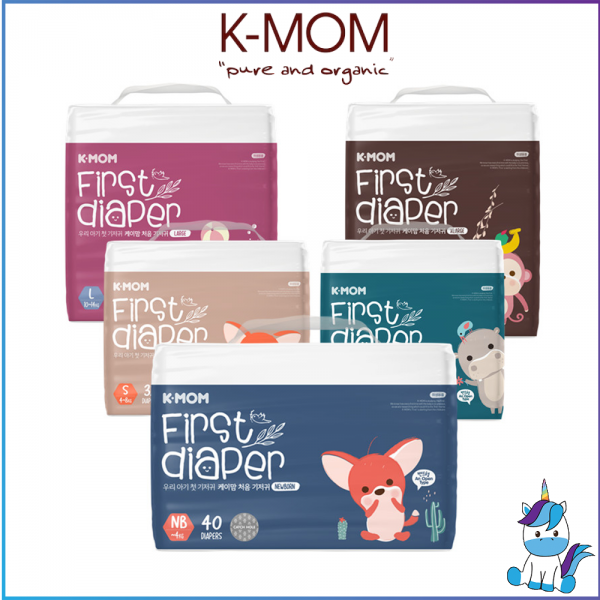 K-MOM First Diaper Size New Born to XL - Tape