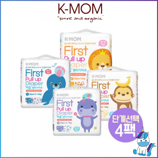 KMOM K-MOM Elastic First Pull Up Diaper