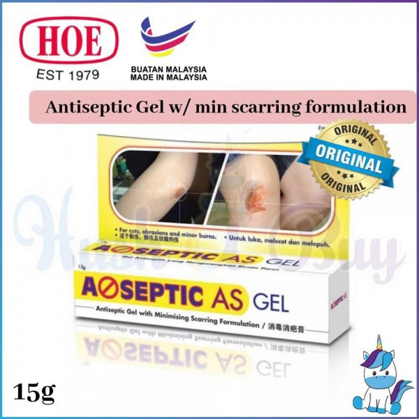 A-SEPTIC AG GEL Antiseptic Cream15g