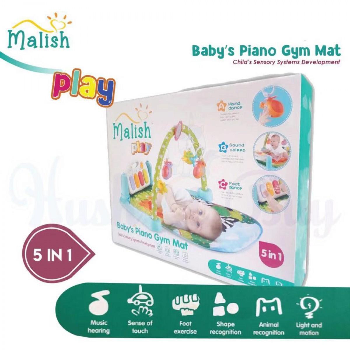 Malish 5-in-1 Baby's Piano Gym Mat