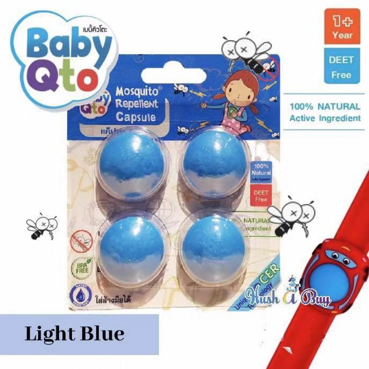 Baby Qto Mosquito Repellent Capsule - 4pcs
