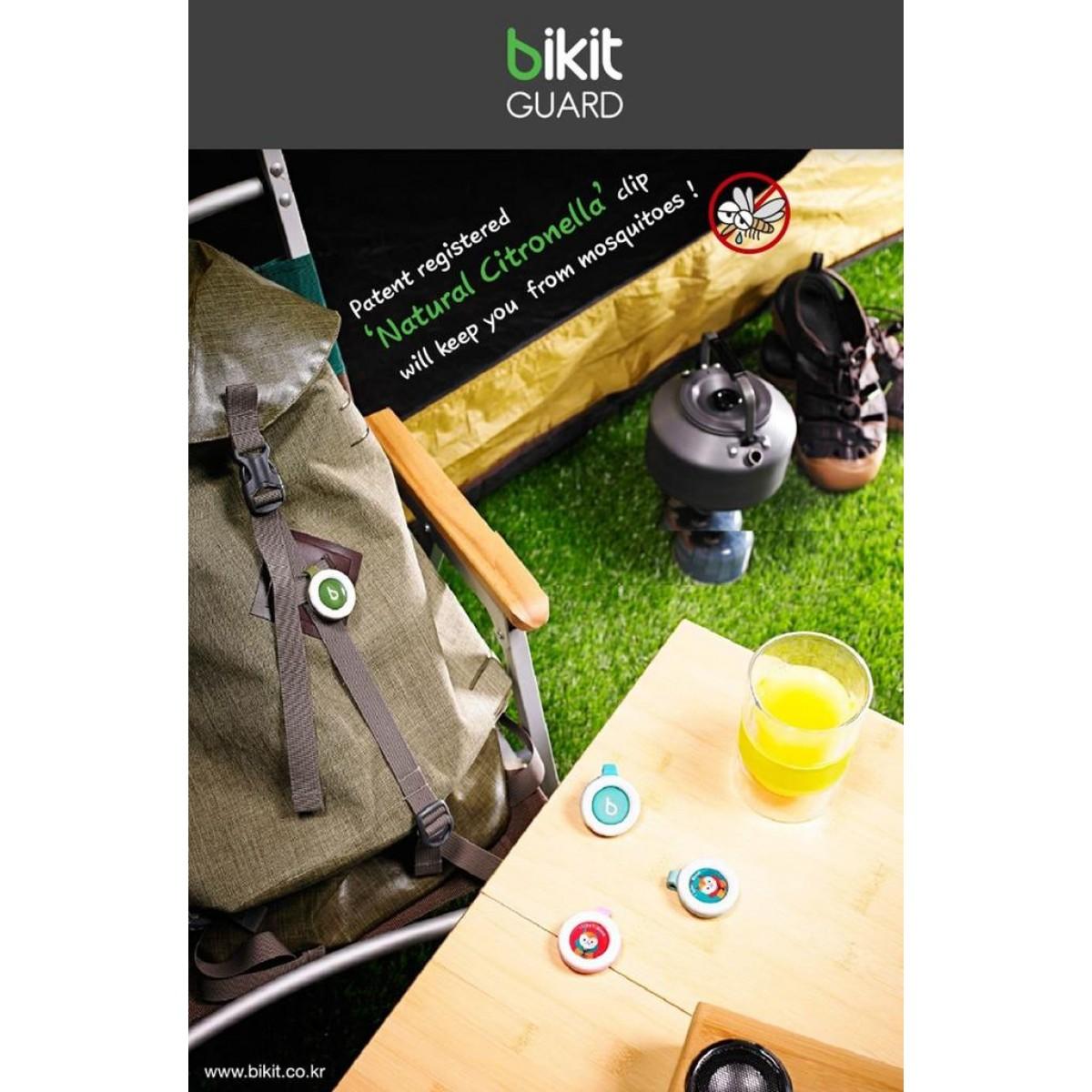 Bikit Guard Moisquito Repellent Clip - Natural Ingredient - Assorted Design