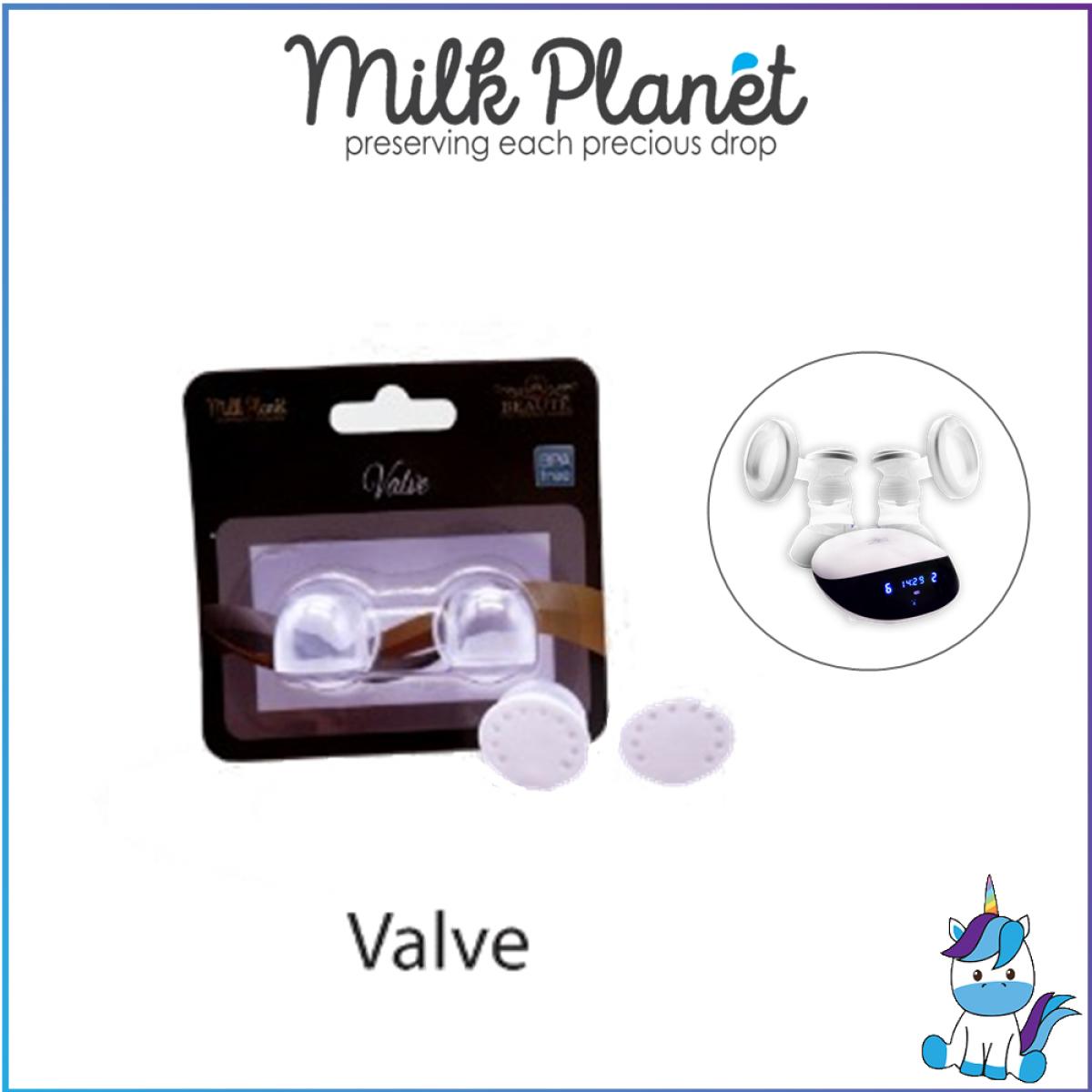 Milk Planet Membrane/Valve/Diaphragm-Glitter Duet Double Breastpump spare parts