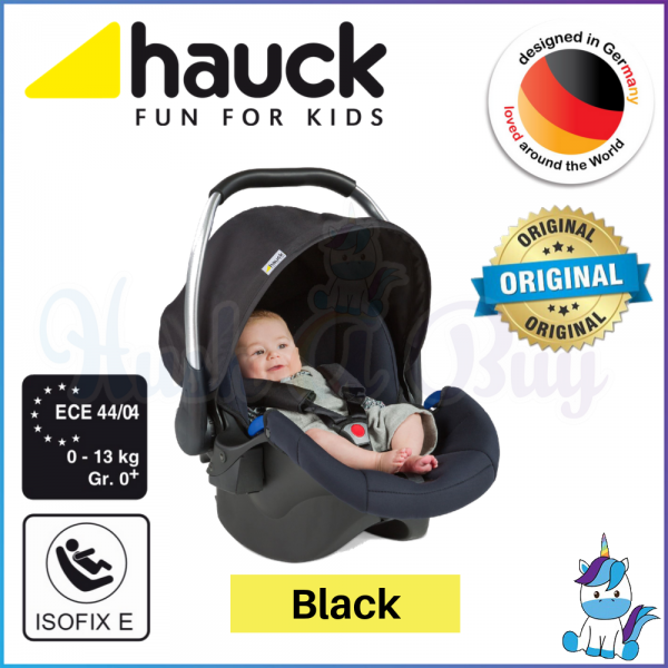 Hauck Comfort Carrier Fix Group 0+ Car Seat & Isofix Base - Black
