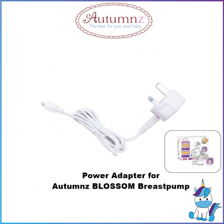 Autumz Power Adaptor AC for Autumnz Blossom Single Electric Breastpump