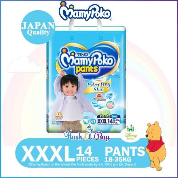 MamyPoko Extra Dry Skin PANTS XXXL14 Boy