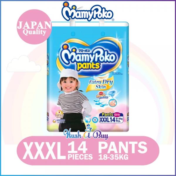 MamyPoko Extra Dry Skin PANTS XXXL14 GIRL