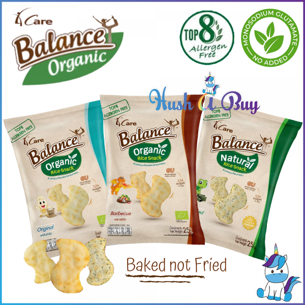 Balance Organic Rice Cracker 25g -ORIGINAL/BARBECUE/SEAWEED