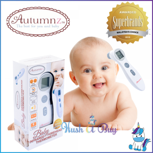 Autumnz Digital Baby Infrared Forehead Thermometer - 1 Year Warranty