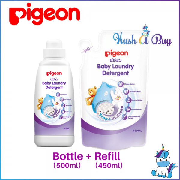 PIGEON Baby Laundry Detergent Bottle(500ml)/Refill(450ml)