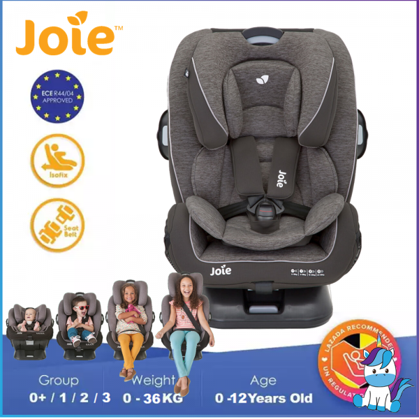 JOIE Every Stages FX - Convertible Children Safety Seat with ISOFIX 0-36KGS (Birth-12years)