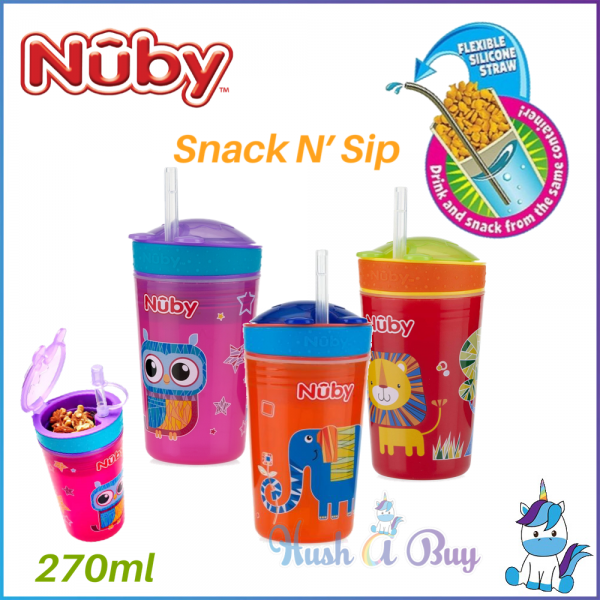 Nuby Snack N' Sip Cup 9oz/270ml