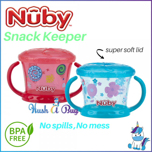 Nuby BPA Free Snack Keeper 9oz