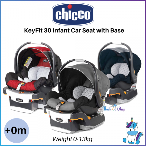 FREE SHIPPING TO WM - Chicco KEYFIT 30 Infant Car Seat with Base 0-13kg