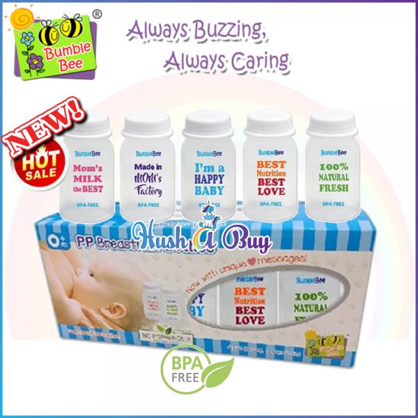 Bumble Bee BPA FREE PP Breastmilk Storage Bottles
