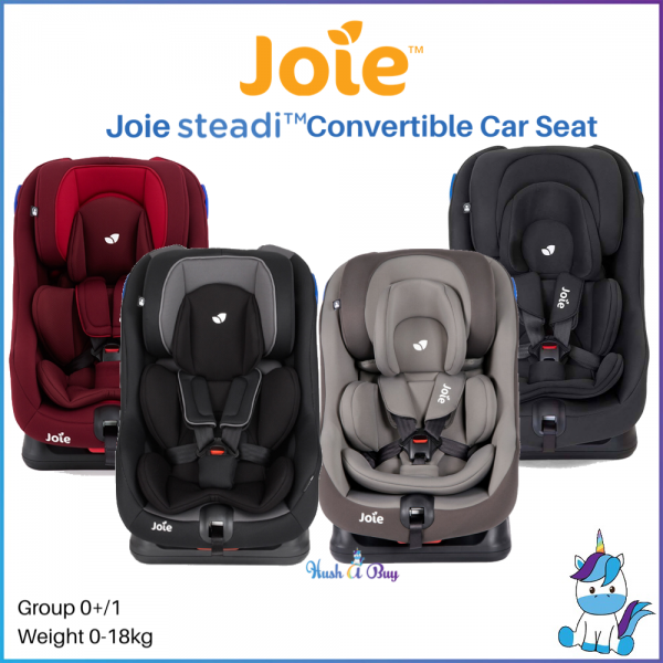 Joie Steadi Convertible Car Seat (0-18kg) Extended Rear Facing