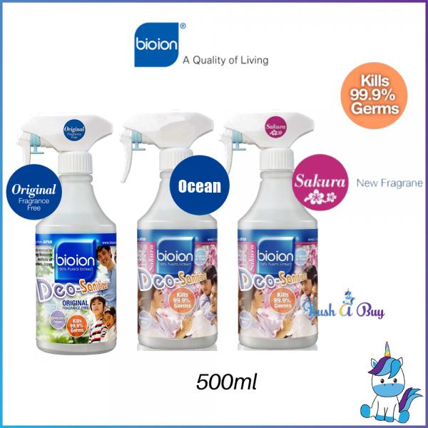 Bioion Deo Sanitizer Germ-Free Sanitizer Water Based 500ml
