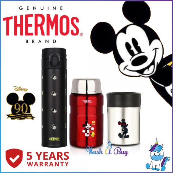 Thermos Mickey Stainless Steel King Food Jar (FREE Stainlessteel Foldable Spoon) or Flask 400ml - 710ml