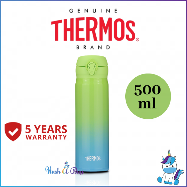 Thermos Ultra Light Flask 500ml Limited Edition - GO GREEN - Made in Malaysia