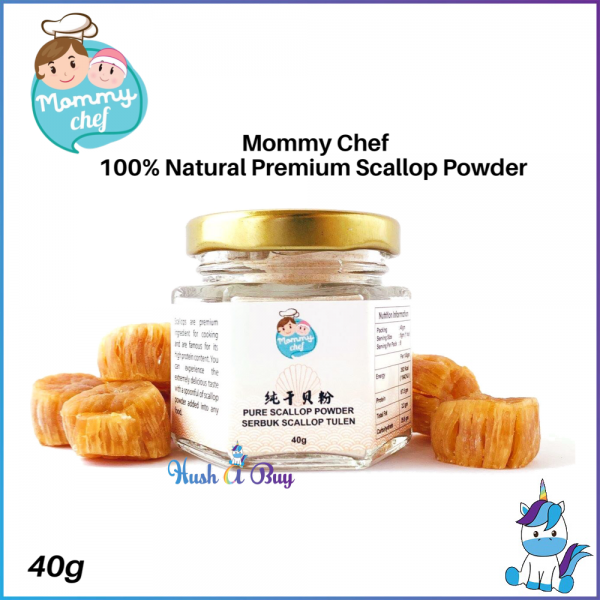 Mommy Chef 100% Natural Premium Scallop Powder 40g