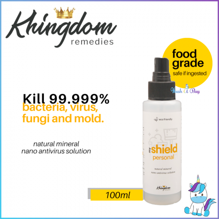 Khingdom My Shield Personal Multi Purpose Cleanser  / Sanitizer -100ml