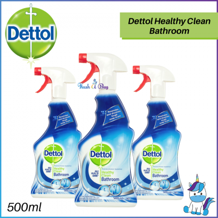 Dettol Healthy Clean Bathroom Spray 500ml