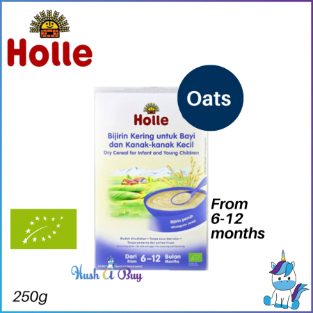 Holle Dry Cereal for Infant and Young Children (Oats) 250g