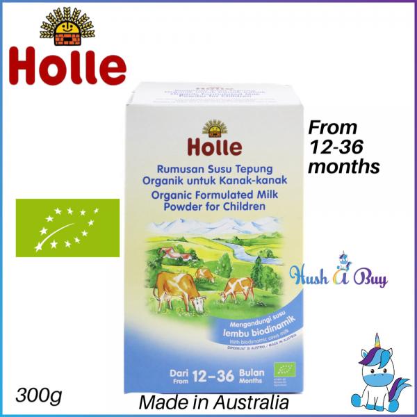 Holle OrganicBiodynamic Formulated Cow Milk Powder for Children (1 – 3 years) 300g