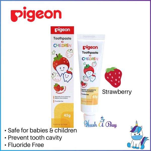 Pigeon Toothpaste For Children 45g - Strawberry Flavor