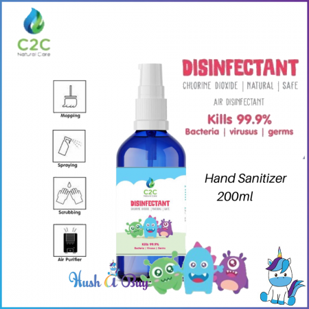 MOHTER K - C2C Natural Care Disinfectant Sanitizer 200ml