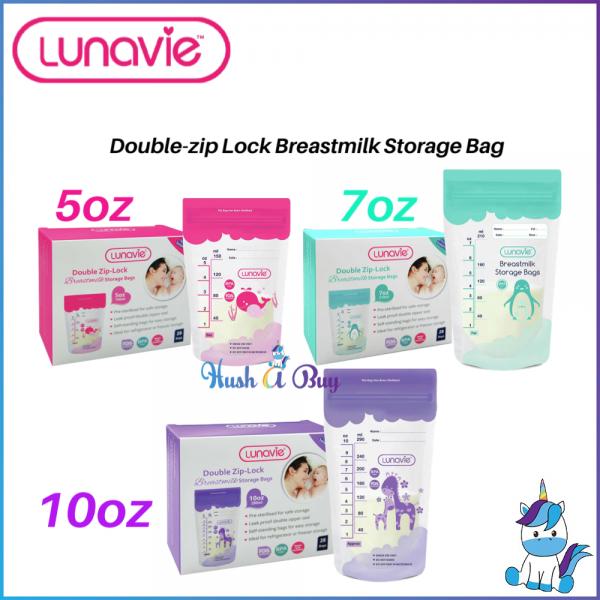 Lunavie Breast Milk Storage Bag (28pcs/box) 5oz / 7oz / 10oz