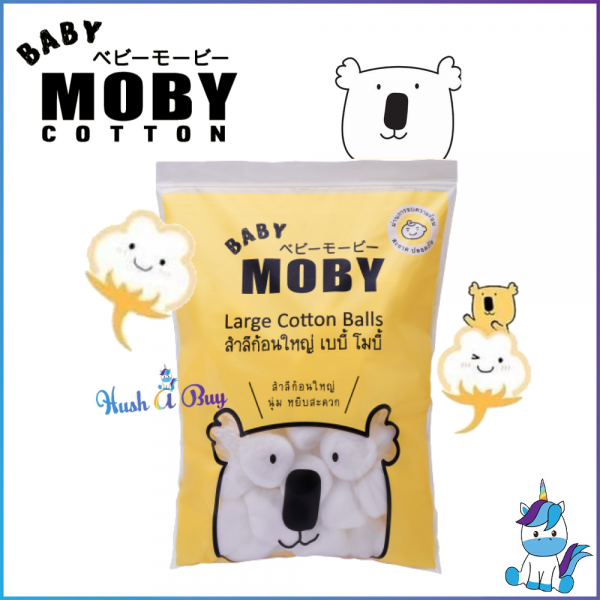 Baby Moby Large Cotton Balls 100g