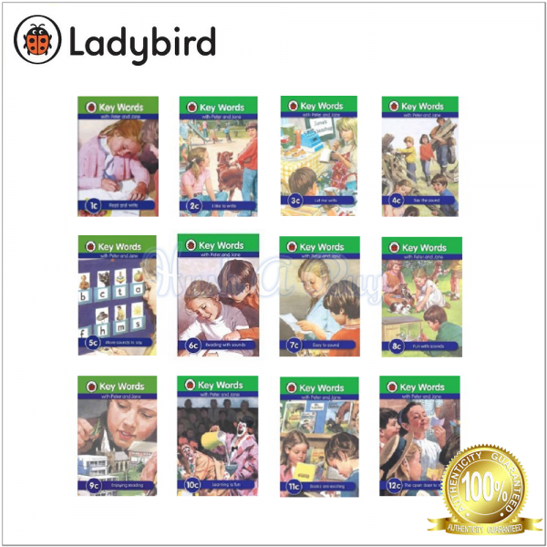 Ladybird Keywords with Peter And Jane Series C