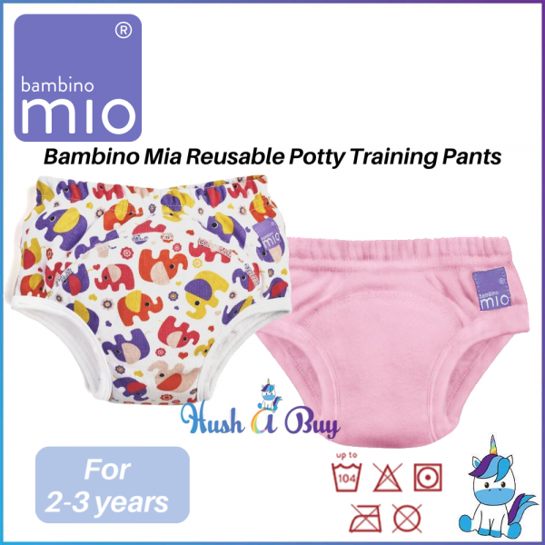 Mio Panty Reusable Training Pants for Girls 18mth-24mth / 2-3 yrs