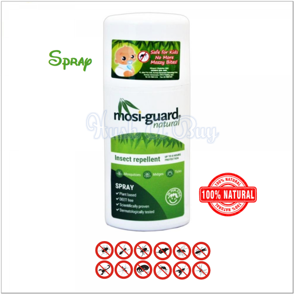 Mosiguard Insect / Moisquitos Repellent Natural 75ml - Spray / Roll On
