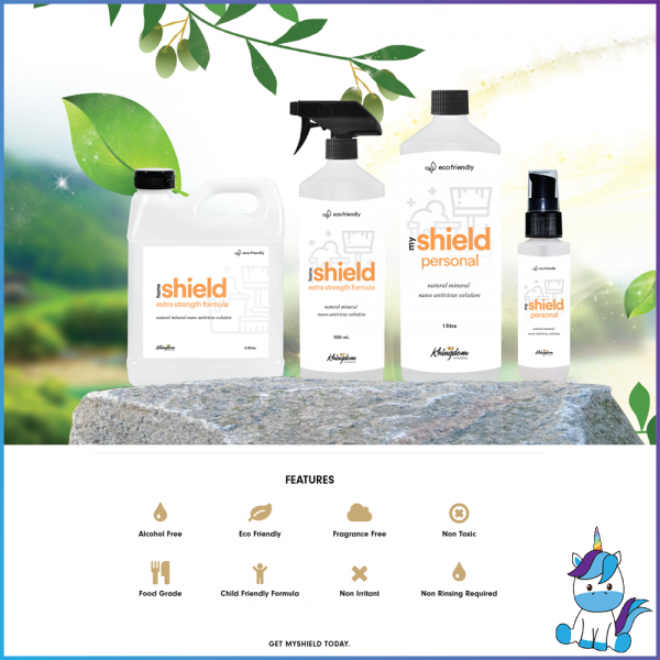 My Shield Personal Multi Purpose Cleanser and Sanitizer