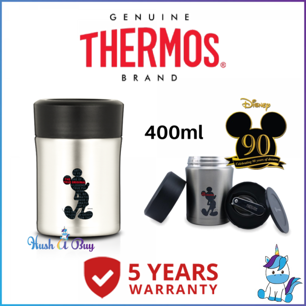 Thermos Mickey Stainless Steel King Food Jar (FREE Stainlessteel Foldable Spoon) 470ml