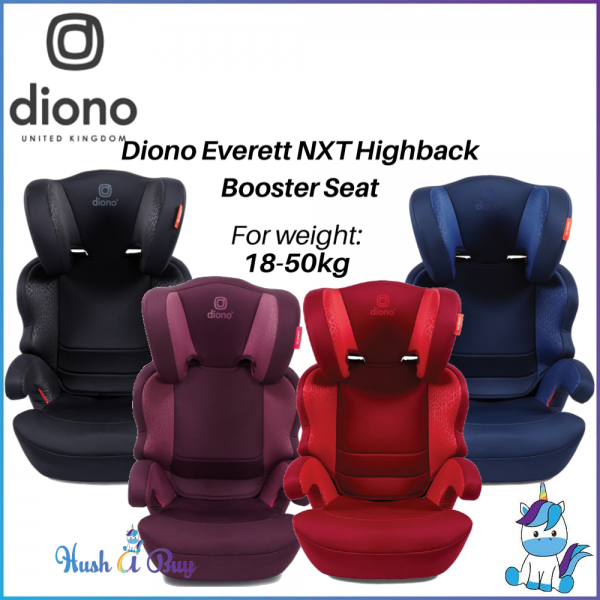 Diono Everett NXT Booster Car Seat (4-12 years) -18-50kg