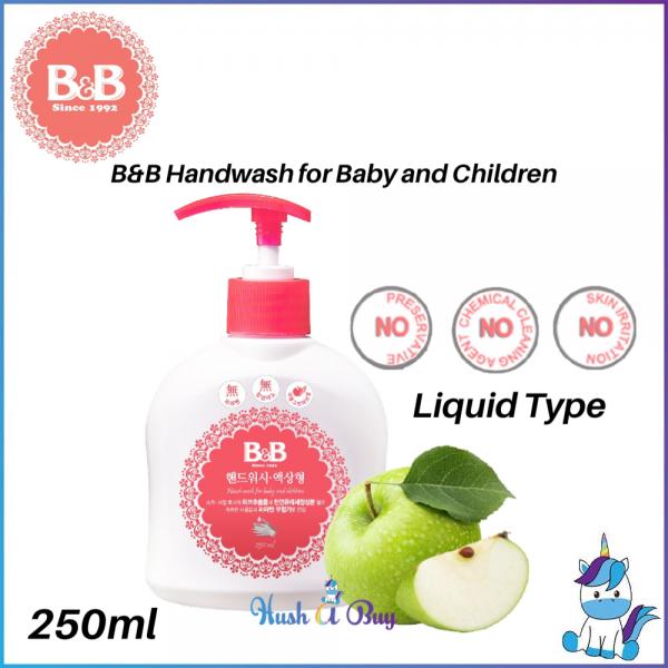B&B Handwash For Baby and Children Liquid Type 250ml