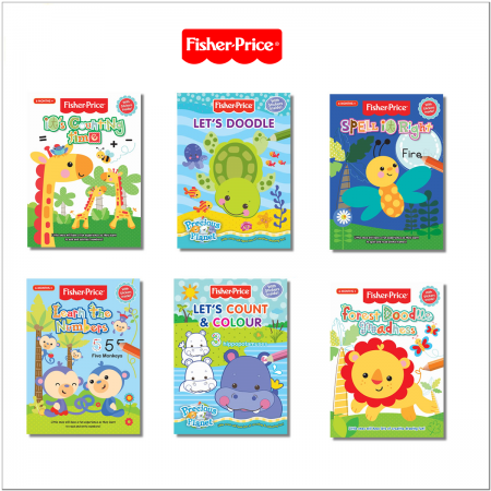 Fisher-Price Toddlers Activities with Stickers Books