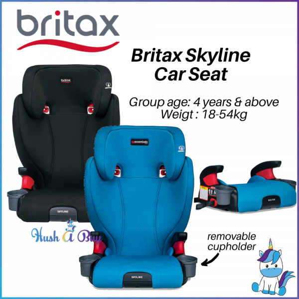 Britax Skyline 2-Stage Belt-Positioning Booster Seats (18-54kg)  Age 4yrr+