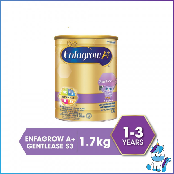 Enfagrow A+ Gentlease (1-3 years) Step 3 for Colicky Baby 1.7kg